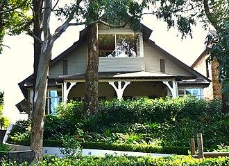 Patrick White - Patrick White's home Highbury, in Centennial Park, Sydney