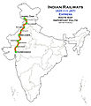 (Ahmadabad - Jammu Tawi) Express Route map.jpg