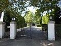 Árpád Street's cemetery main entrance. - Hévíz, 2016 Hungary.jpg