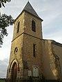 Église Saint-Barthélémy de Monferran - Clocher sud.jpg