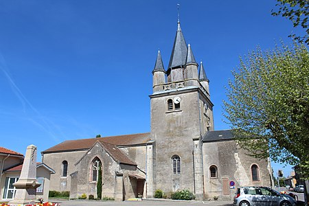 Église Saints-Pierre-et-Paul de Sermoyer