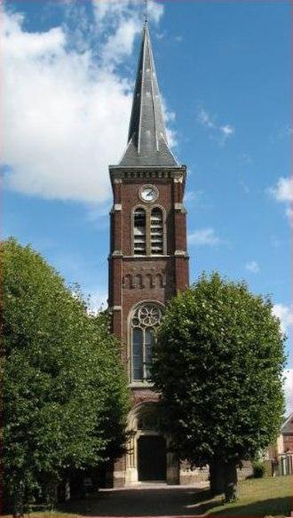 Allonville - The church in Allonville