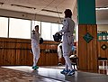 Épée salute at Athenaikos Fencing Club.jpg