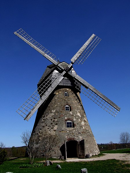 File:Āraiši Windmill.jpg