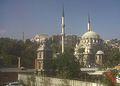 İstanbul, Nusretiye Camii, Tophane (Nusretiye) Saat Kulesi Eylül 2012.jpg