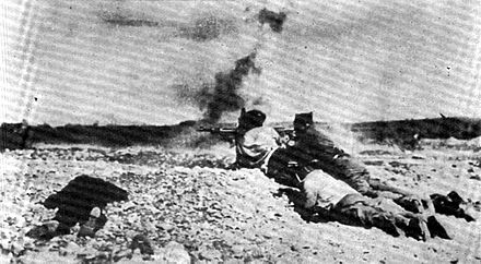 Yugoslav volunteers fighting in the Spanish Civil War Spanski borci.jpg