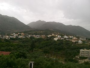 Kournas, Chania - South view of Kournas