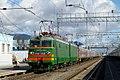 ВЛ11-003, Russia, Yaroslavl region, Danilov station (Trainpix 61153).jpg
