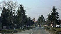 Гибарац (главна улица) - Gibarac (main street).JPG