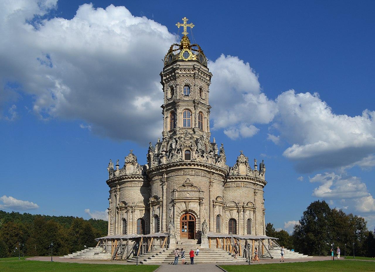 Знаменская церковь в с. Дубровицы
