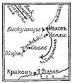 Карта-схема к статье «Мехов». Военная энциклопедия Сытина (Санкт-Петербург, 1911-1915).jpg