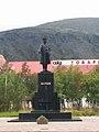 Памятник Кирову в Кировске,Мурманская область.jpg