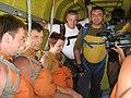Перший в світі масовий стрибок незрячих з парашутом, 2009.jpg