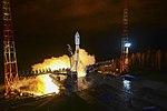 Пуск ракеты-носителя «Союз-2» с космодрома Плесецк 2018-11-12.jpg