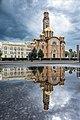 Саборна црква Христа спаситеља и Банова зграда управе - одраз.jpg