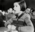 Свидетельница Марьяна Папп дает показания на Рижском процессе 1946.png