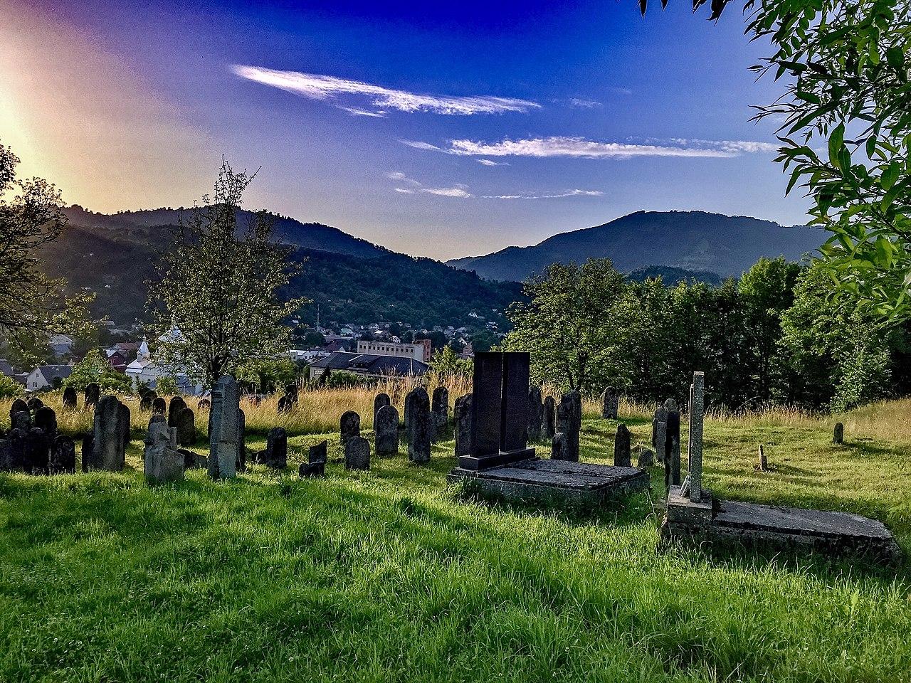 Старое еврейской кладбище