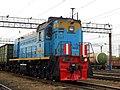 ТЭМ18ДМ-438, Россия, Самарская область, станция Сызрань (Trainpix 144217).jpg