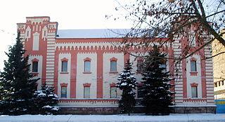 Tarashcha city in Kyiv Oblast, Ukraine