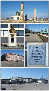 Tyuratam Station on the Moscow to Tashkent railway in Kazakhstan