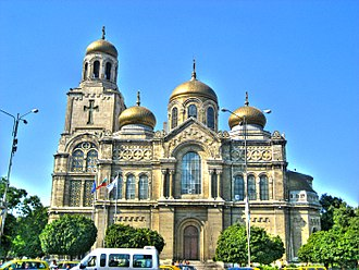Religion in Bulgaria - Cathedral of the Dormition of the Mother of God in Varna.