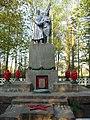 Шкуратівка - Братська могила радянських воїнів та пам'ятник воїнам-землякам.JPG