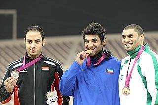 Saleh Al-Haddad Kuwaiti long jumper