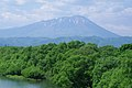 杜の大橋から望む岩手山 Mt. Iwate from Mori-no-Ohashi - panoramio.jpg