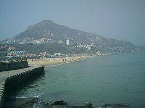 Lianyungang - View of seaside area in Xilian Island