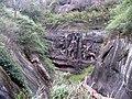 韶关坪石镇金鸡岭 - 摩崖壁画《盘古开天地》 - panoramio.jpg