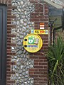-2020-11-12 Defibrillator on the wall outside Upper Sheringham village hall, Norfolk.JPG