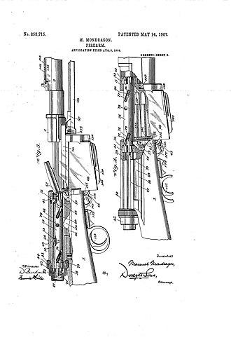 Mondragón rifle - Image: 002 mondragon patent rifle