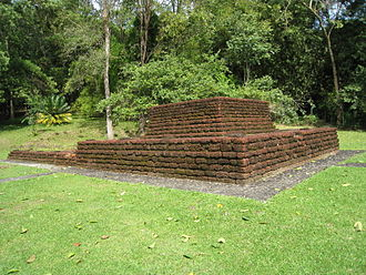 Greater India - Candi Bukit Batu Pahat of Bujang Valley. A Hindu-Buddhist kingdom ruled ancient Kedah possibly as early as 110 CE, the earliest evidence of strong Indian influence which was once prevalent among the Kedahan Malays.