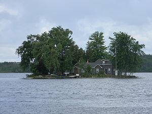 Puslinch Lake - Island on Puslinch Lake