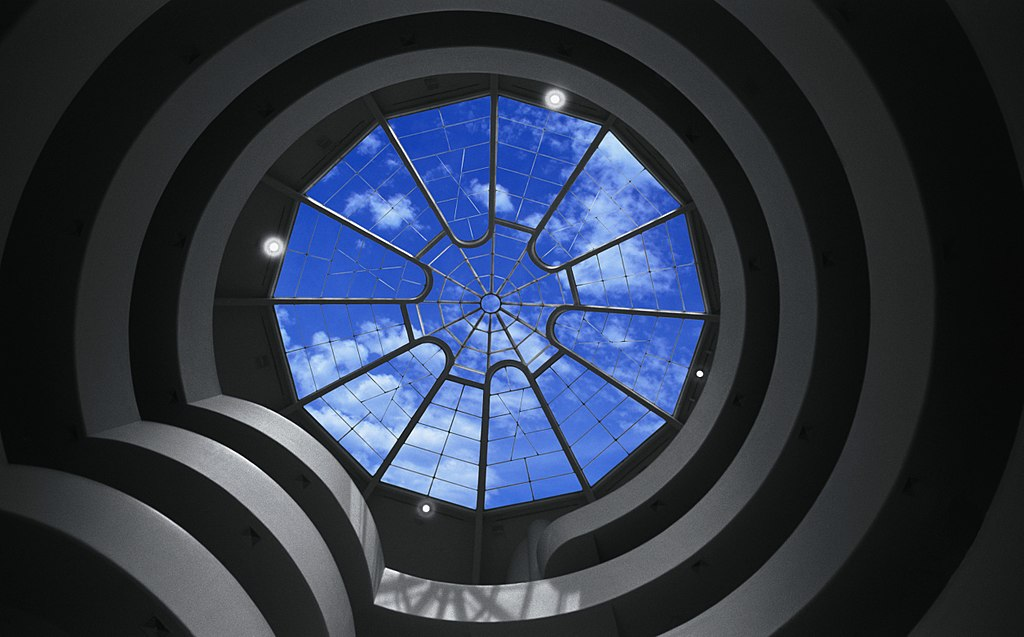 01 Solomon R. Guggenheim Museum abstract