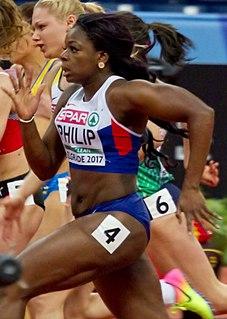Asha Philip British sprinter