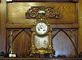 035 Ajuntament de Terrassa, sala de l'alcaldia, rellotge.JPG