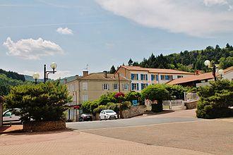 Saint-Alban-les-Eaux - A view within Saint-Alban-les-Eaux