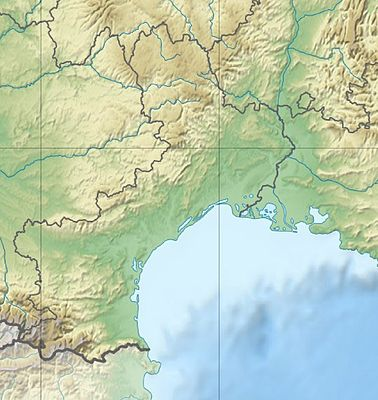 Location map France Languedoc-Roussillon