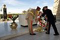 120211-D-VO565-009 - Martin E. Dempsey presents a wreath at the tomb of President Anwar Sadat.jpg