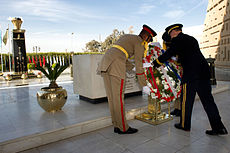 120211-D-VO565-009 - Martin E. Dempsey presents a wreath at the tomb of President Anwar Sadat.jpg