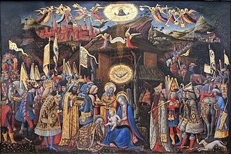 Antonio Vivarini - Adoration of the Magi, 1418
