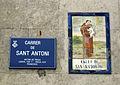 146 Plaques al carrer de Sant Antoni (Terrassa).jpg