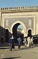 14th Century gate leading into Fes Medina or old Arab city (37086039373).jpg