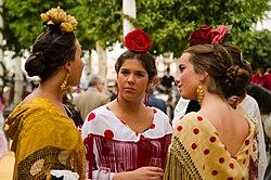 Traje De Flamenca Wikipedia La Enciclopedia Libre