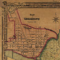 1851 Map of Georgetown, crop from 1851 Map of the City.jpg