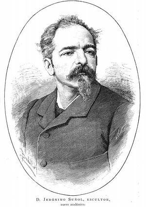 Jeronimo Suñol - Jeronimo Suñol academico de la Real Academia de Bellas Artes de Madrid - La Ilustración Española y Americana. 22/6/1882, pág 1