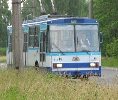 18  trolejbusu maršruts (Rīga) - Wikiwand