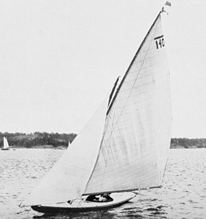 Sailing at the 1920 Summer Olympics - Image: 1912 Nurdug II
