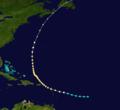 1924 Atlantic hurricane 4 track.png